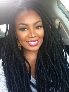 Loving my new #locs more and more everyday!