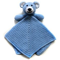 Ravelry: Teddy Bear Security Blanket pattern by Rachel Choi