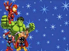 Avengers invitation design