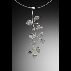 Seaweed necklace-silver