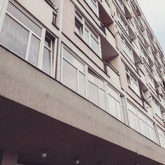 Block of flats 1958-60 Poznań architects: J. Lisniewicz H. Grochulski  #podrys #instaphoto #inspiration #city #life #street #love #cute #beautiful #travel #happy #day #landscape #light #wall #building #urban #art #architecture #archilovers #details #design #pattern #geometry #modernism #modernizm #minimal #sun #poland #poznan