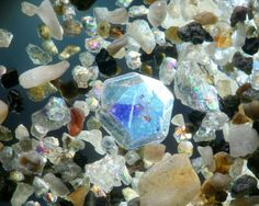 Astonishing Images of Sand Grains Magnified Under High Powered Light Microscope