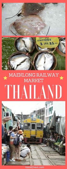 Maeklong Railway Market. Mention Bangkok and one of the things that comes to mind is its street markets.