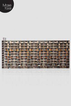 Park Hill Flats Sheffield Brutalist Model