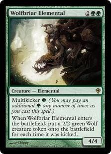 Magic: the Gathering - Wolfbriar Elemental - Worldwake by Wizards of the Coast…✖️No Pin Limits✖️More Pins Like This One At FOSTERGINGER @ Pinterest✖️