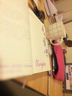 Journaling, hand lettering, hobbies