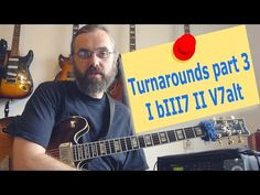 Turnarounds part 3 - I bIII7 II Valt - YouTube