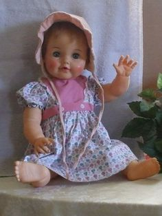 Betsy Wetsy Doll 1950's Vintage Dolls Vinyl OBW 20 F BW20 Ideal Dolls