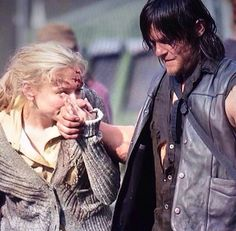 "Emily & Norman BTS || ""You're gonna miss me so bad when I'm gone, Daryl Dixon."""