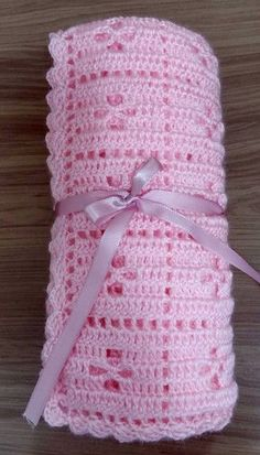 Best 12 Sitting Elephant Pink and White Baby Blanket / Crochet Baby Crochet Baby Cardigan Free Pattern, Baby Afghan Crochet, Crochet Quilt, Afghan Crochet Patterns, Baby Knitting Patterns, Crochet Stitches, Diy Crafts Crochet, Crochet Projects, Crochet Baby Clothes
