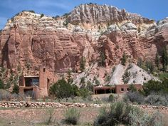 Monastery of Christ in the Desert, Abiquiu, NM ... near Ghost Ranch