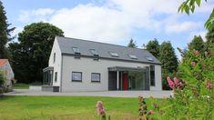 Modern farmhouse in Glenfarne, Co. Leitrim, designed by McCabe Architects Irish Cottage, Old Cottage, Cottage House Plans, Cottage Homes, Rural House, Bungalow House Design, Cottage Design, Bungalow Ideas, House Designs Ireland