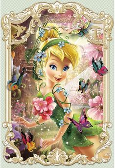 Amazing technology from Japan, the special lenticular technology that produces images with an illusion of serious depth, brings 2 dimension images to real Brand new product never seen before in the U.S, our Three-dimensional Tinkerbell Pictures, Disney Princess Pictures, Princess Cartoon, Disney Pictures, Tinkerbell And Friends, Tinkerbell Disney, Disney Fairies, Ariel Disney, Tinkerbell Wallpaper