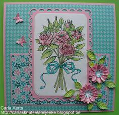 carlasknutselateljeeke: Rose Bouquet set (vervolg)