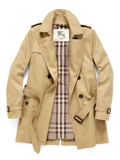 Classic Burberry Trench.