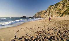 Praia da Adraga Beach, Sintra, Portugal.