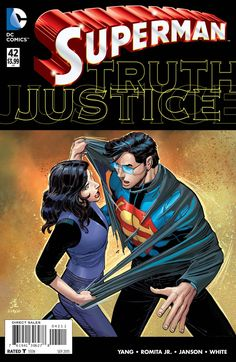 "The Superman epic you never expected - ""TRUTH"" continues! Has Lois Lane betrayed Superman with the truth?"
