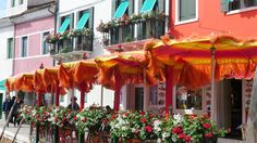 Burano - shops and houses more colorful than flowers