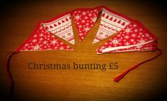 Festive bunting Christmas Bunting, Festive, Christmas Swags
