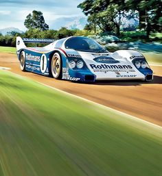 d Porsche 962...