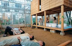 Japan's Millennium City provides an eco friendly greenhouse utopia for weary city dwellers looking to reconnect with nature.