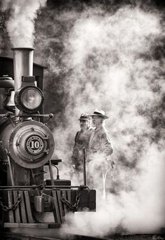 Photo by Matthew Malkiewicz - ...in smoke and steam... ☚