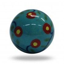 Ceramic Blue Bliss Ball Knob