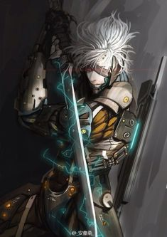 Raiden   Metal Gear Rising   Metal Gear Solid   VK