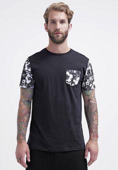 Burton Menswear London Camiseta print - black - Zalando.es