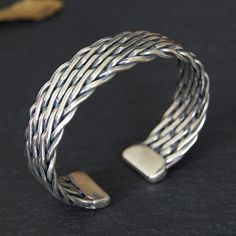 8 cool metal cuff bracelets for men material men s personalized heavy gauge silver cuff bracelet men s sterling silver Mens Silver Jewelry, Gold And Silver Bracelets, Silver Hoop Earrings, Bracelets For Men, Silver Rings, Men's Jewelry, 925 Silver, Bracelet Men, Earrings Uk