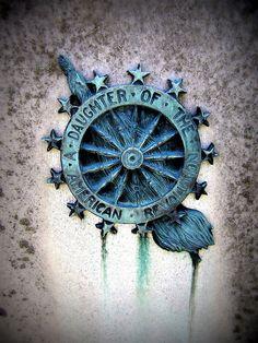 Daughter of the American Revolution (DAR) Evergreen Cemetery, Gettysburg, Pennsylvania