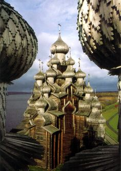 Church of the Transfiguration. Kizhi Isiand, Lake Onega, Russia.  |HOME SWEET WORLD