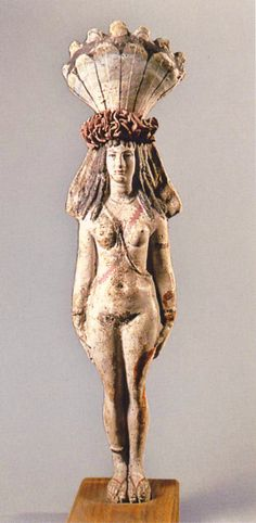 Statuette of Isis-Aphrodite 1st-2nd centuy AD; Roman Egypt