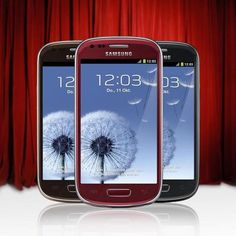 The Samsung GALAXY S3 Mini is now with us now commercially available in the colors of Amber Brown, Garnet Red and Onyx Black