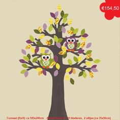 #tree #owl #wallpaper #kidsroom #nursery