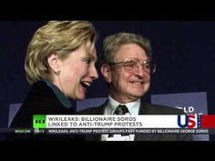 Billionaire Soros linked to anti-Trump protests - WikiLeaks Behind every act of national destruction there is a Jewish rat eagerly rubbing his paws with glee.