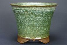 Ø 16,3 cm Kaskadenschale Bonsaischale Bonsai Pot Roman Husmann 6354