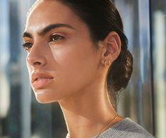 Bike Lock Huggie Earrings|14k Gold | Shinola® Detroit Shinola Detroit, Minimalist Makeup, Sterling Silver Earrings, Bike, Let It Be, Pure Products, Pendant, Beautiful, Gold