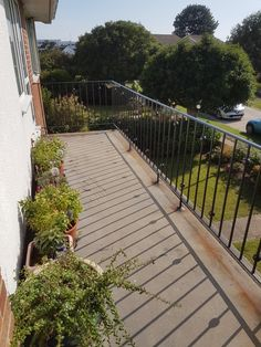 Railings made to match railings there previously Balcony Railing, Installation Manual, Security Door, Metal Fabrication, Dog Crate, Railings, Just Amazing, Blacksmithing, Contemporary Design