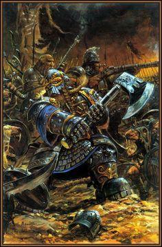 Dwarves vs. Shaven; adrian smith
