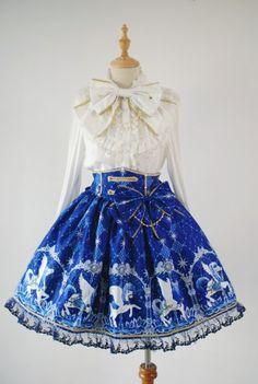 [Replica] Angelic Pretty Crystal Dream Carnival Skirt