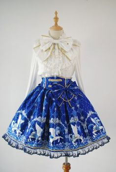 [Replica] Angelic Pretty Crystal Dream Carnival Skirt