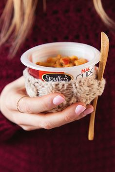 Stouffer's Chili Cheese Mac Cups –– cheesy goodness in a convenient cup. Just heat up as directed, get comfy and enjoy! New Recipes, Favorite Recipes, Group Meals, Mac And Cheese, Chili, Cups, Frozen, Yummy Food, Comfy