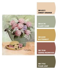 Instantly turn any picture into a palette with ColorSnap, created for you by Sherwin-Williams. Paint Color Schemes, Colour Pallette, Color Palate, Color Combos, Interior Paint Colors, Paint Colors For Home, Room Colors, House Colors, Colorful Decor