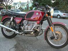 euro 1976 R75/6 with r90s front brakes