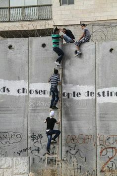 Conquering the Apartheid Wall -Palestine