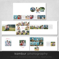 PSD Wedding Love Story Album template (Instagram inspired) 12X12 16 ...