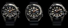 Seiko Introduces Three 'Black Series' Prospex Limited Edition Dive Watches Watch Releases