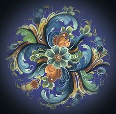 swedish rosemaling templates - I think it would be a nice tattoo for me since I am part Swedish :)