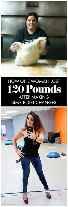 This woman made a few simple diet changes that helped her lose 120 pounds, and start living a healthy lifestyle. Womanista.com
